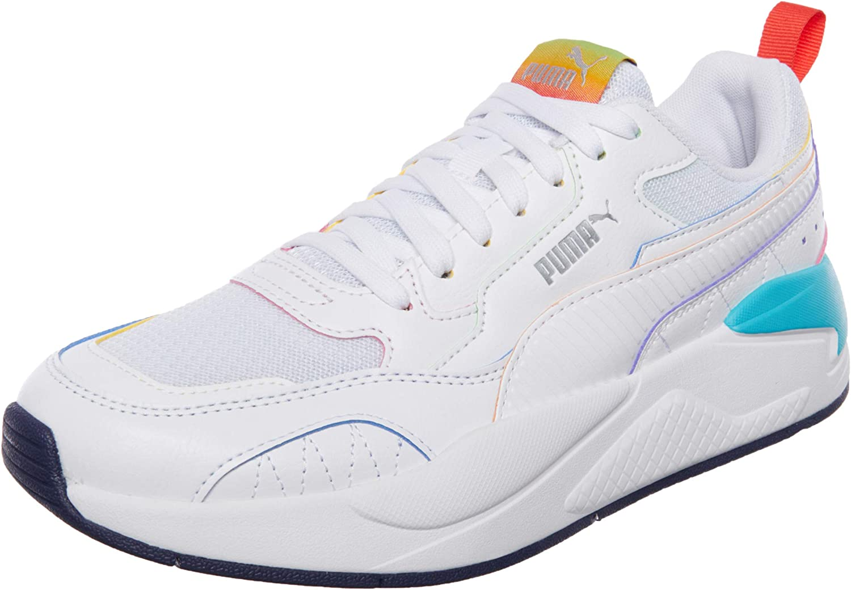 Puma X-RAY² Max 68% OFF Square Rainbow Sneaker Popular White-Scuba Blue-Poppy White