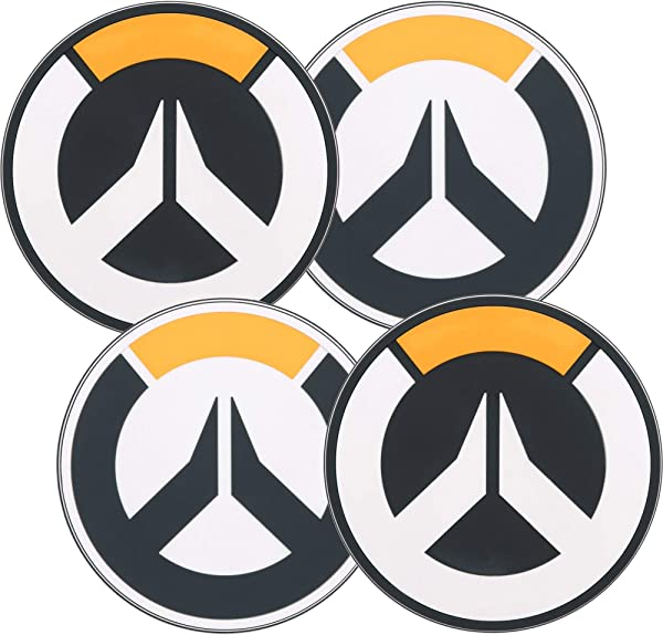 JINX Overwatch Logo Coaster 4 Pack