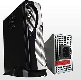 Hiditec | Pack Torre de PC TAC03 y Fuente de Alimentación TFX 300W | Formato Slim ITX | Caja pequeña | Diseño Elegante | Carcasa Resistente | Materiales de Calidad