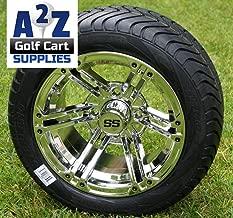 Best chrome golf cart wheels Reviews