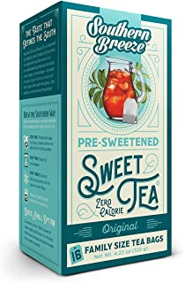 Southern Breeze Sweet Tea, 16 Family Size Tea Bags