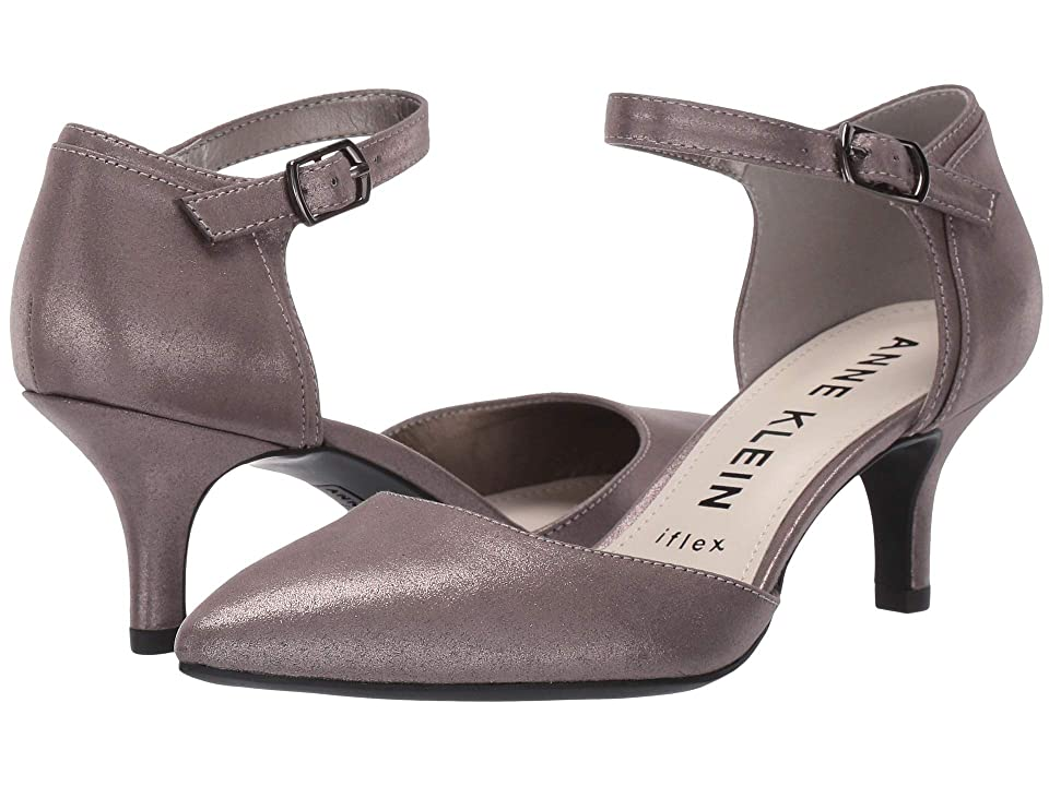 Anne Klein Fields Pump (Pewter) Women