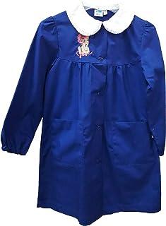 siggi Grembiule Scuola Elementare Bambina 33GR3281 Bluette 6-7-8-9-10-11-12-13-14-15 Anni