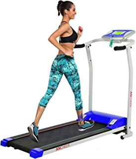 ncient Folding Electric Treadmill for Home Running Machine Fitness Exercise Machine Power Motorized with Pulse Grip and Safety Key