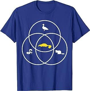 Platypus Venn Diagram Shirt Duck Snake Beaver Platypus Gift