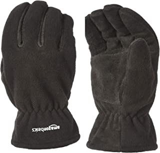 AmazonBasics Cold Proof Thermal Winter Work Gloves, Black, M