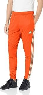 adidas Men's Tiro 19 Training Soccer Pants, Tiro '19 Pants, Orange/White, Medium
