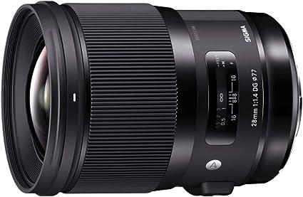 Sigma 28mm F1 4 Dg Hsm Art 77 Mm Filtergewinde Für Canon Objektivbajonett