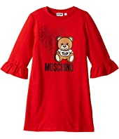 Moschino Kids - Dress w/ Heart Toy Bear (Big Kids)