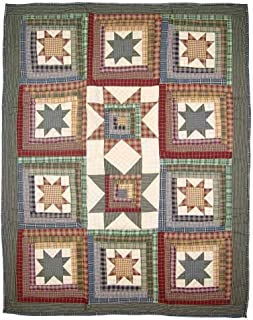 Patch Magic 36-Inch by 46-Inch Cottage Star Quilt Crib