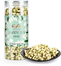 Goofoo Dried Jasmine Flower Buds Petals Herbal Decaffeinated Floral Chinese National Tea 100% Natural Pure NonToxic 1.2 oz