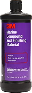 3M Marine Compound and Finishing Material (06044) – For Boats and RVs – 32 Ounces
