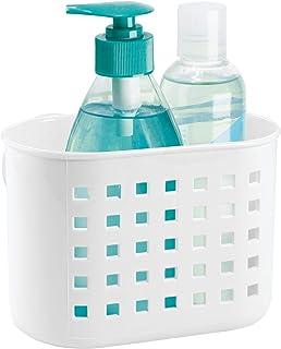 InterDesign Suction Bathroom Shower Caddy Basket for Shampoo 21801