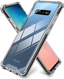 ProCase Galaxy S10 Case, Slim Hybrid Crystal Clear TPU Bumper Cushion Cover with Reinforced Corners, Transparent Scratch R...