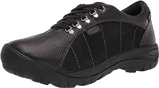 KEEN womens Presidio Waterproof Hiking Sneaker, Black, 9.5 US