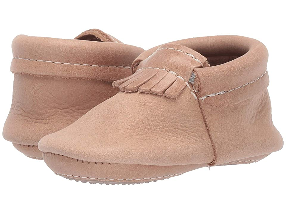 Freshly Picked Mini Sole City Moccasins (Infant/Toddler) (Weathered Brown) Kids Shoes