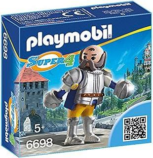 PLAYMOBIL - Super 4 Guardia Real Sir ULF Muñecos y Figuras, Color Multicolor (6698)