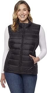 32 DEGREES Womens Plus-Size Ultra-Light Down Packable Vest