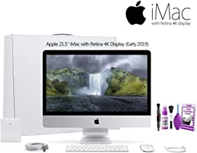 Apple 21.5-Inch iMac with Retina 4K Display MRT42LL/A (Early 2019) with Deluixe Cleaning Set