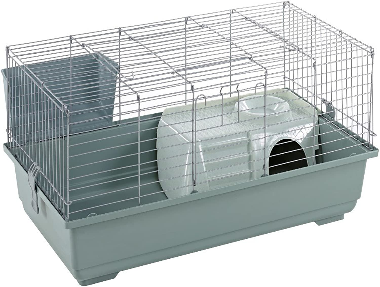 Little Friends Rabbit Cage, 80 cm, Silver