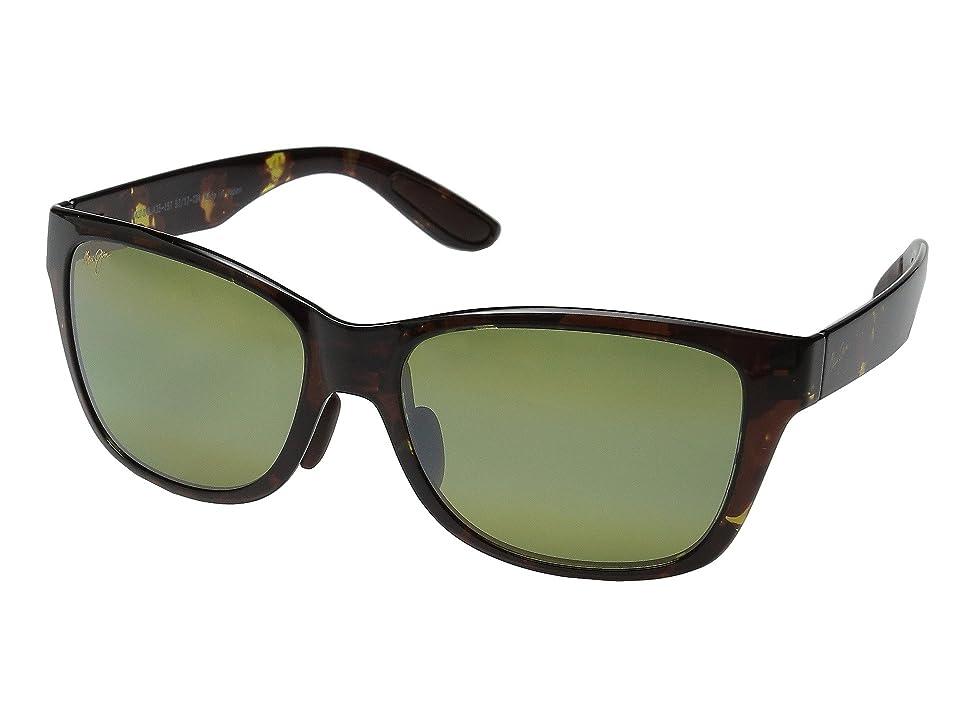Maui Jim Road Trip (Olive Tortoise/Maui HT) Polarized Fashion Sunglasses