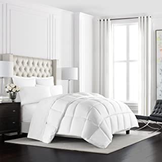 Beckham Hotel Collection Heavyweight Goose Down Alternative Comforter - Hotel Quality Luxury Hypoallergenic Duvet Insert - Warm Winter Comforter - Twin/Twin XL – White