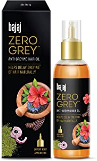 Bajaj Zero Grey Hair Oil™Enriched With Onion,Helps Fight GreyingOf Hair Naturally, 100ml