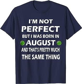 August Birthday Birthstone Leo & Virgo Sign Shirt Gift Idea