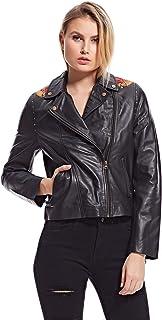 Amenapih Daria Biker Jacket for Women