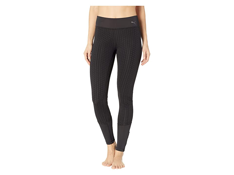 PUMA Luxe Mesh Tights (PUMA Black) Women