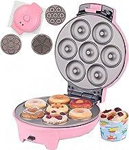 Donut Maker 3 en 1, Donut Machine 750Watt Donut Maker Machine avec 3 Plaques De Cuisson Antiadhésives Donatsmaker Safe & D...