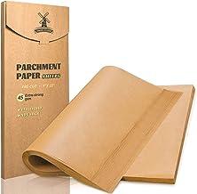 Hiware 200 Pieces Parchment Paper Baking Sheets 9x13 Inches, Precut Non-Stick Parchment Paper for Baking, Cooking, Grillin...
