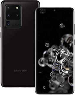 Samsung Galaxy S20 Ultra 5G 128 GB Storage - Android Smartphone - SIM Free Mobile Phone - Cosmic Black (UK Version)