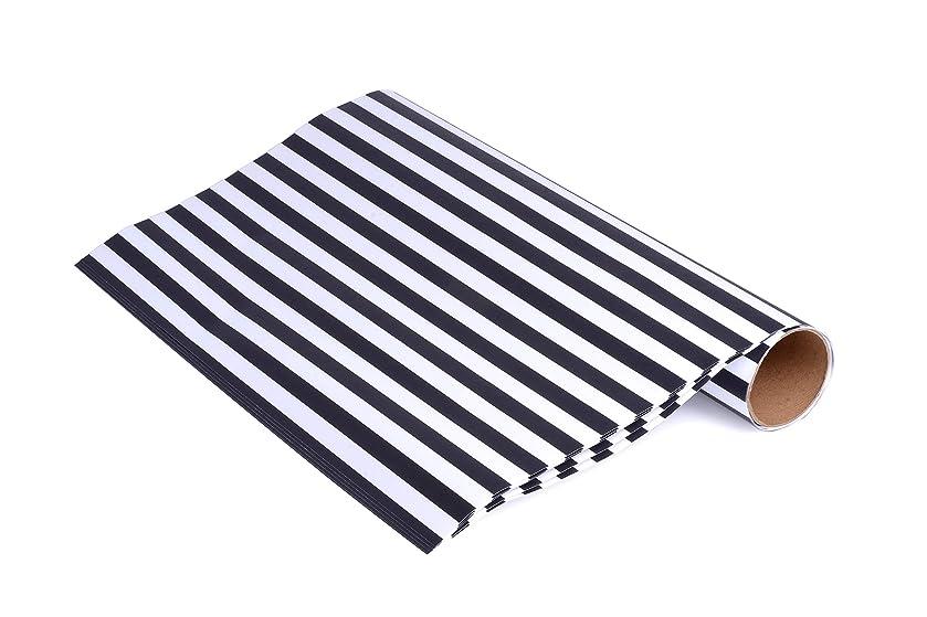 マージンランダム必要としているThe Laundress Drawer Liners, Black/White, 46cm x 60cm