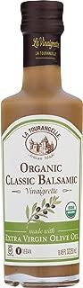 La Tourangelle Organic Classic Balsamic Vinaigrette, Salad Dressing & Marinade, Made With Organic Extra Virgin Olive Oil, Gluten-Free, Low Sodium, 8.45 Oz