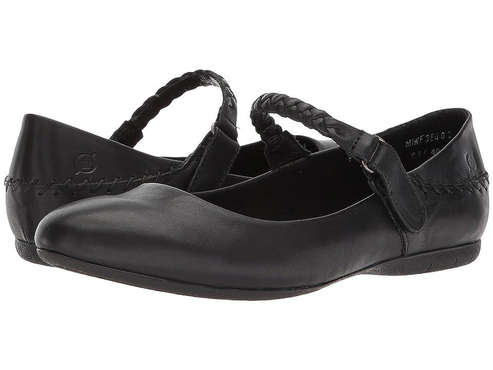 Born Maarten (Black Full Grain Leather) Women