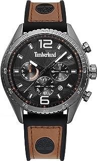 Timberland Reloj Analógico para de los Hombres de Cuarzo con Correa en Cuero TBL.15512JSU/02