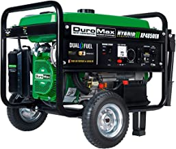 DuroMax XP4850EH Dual Fuel Portable Generator-4850 Watt Gas Propane Powered-Electric..