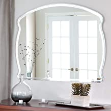 Quality Glass Frameless Decorative Mirror | Mirror Glass for Wall | Mirror for bathrooms | Mirror in Home | Mirror Decor | Mirror Size : 18 X 24inch