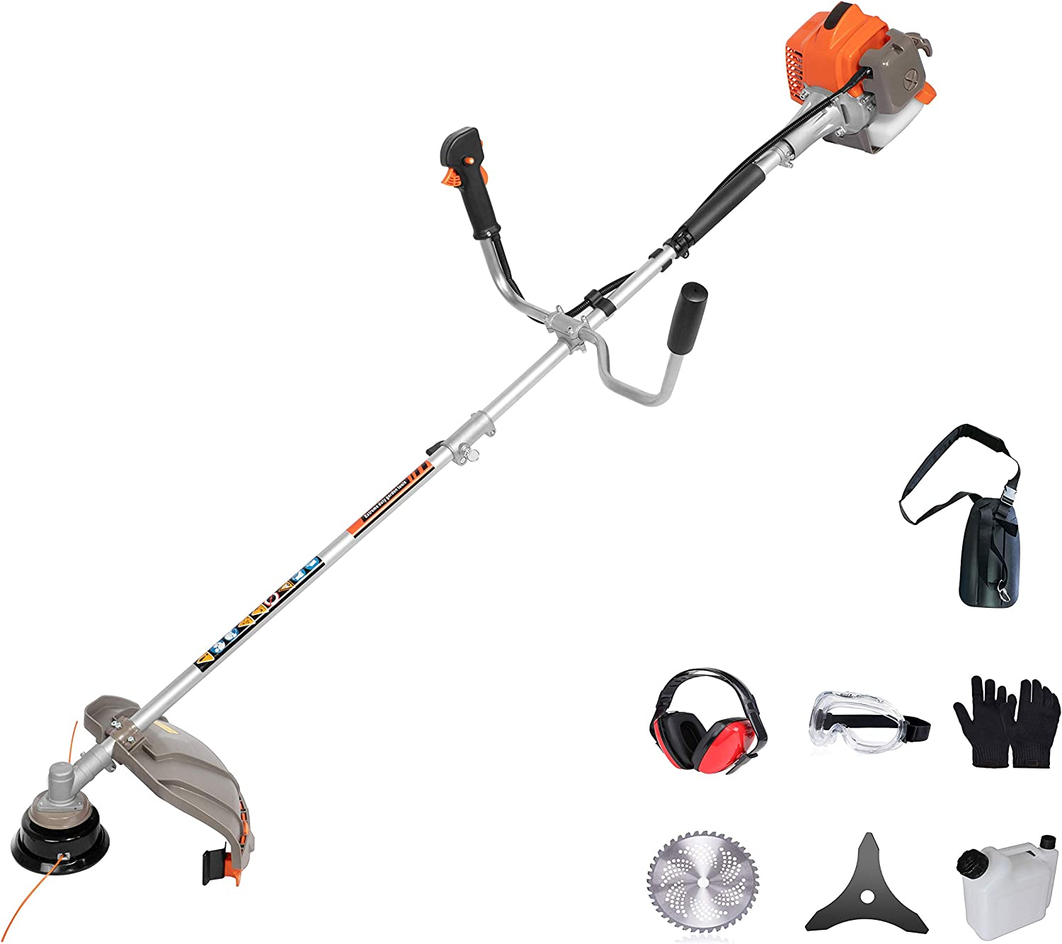 PROYAMA 26cc 2 in 1 全品送料無料 Extreme Duty Dual 2-Cycle Trimmer a 定価 Gas Line