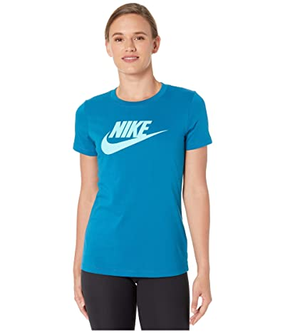 Nike Sportswear Tee Essential Icon Futura (Green Abyss) Women