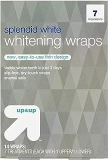 スプレンディッドホワイトニングラップス7日分 アップ&アップ Splendid White Teeth Whitening Wraps 7-Day Treatment - up & up