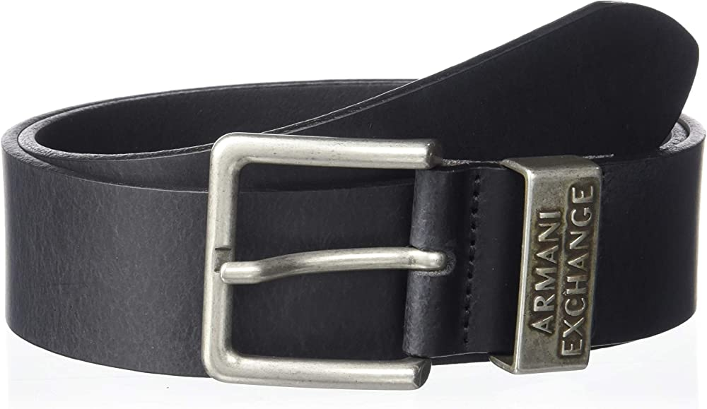 Armani exchange cintura in pelle uomo 951186CC528