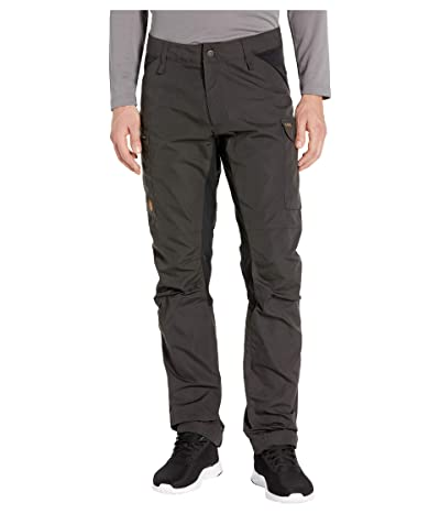 Fjallraven Kaipak Trousers (Dark Grey/Black) Men