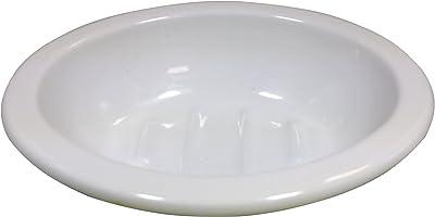 ハースデザイン お風呂場・洗面所に ホーロー製 ソープデイッシュ ホワイト