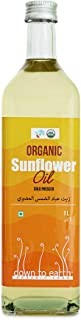 Organic Cold Pressed Sun Flower Oil 1ltr