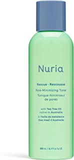Nuria Rescue Pore-Minimizing Facial Toner with Tea Tree Oil and Witch Hazel for Clear Skin
