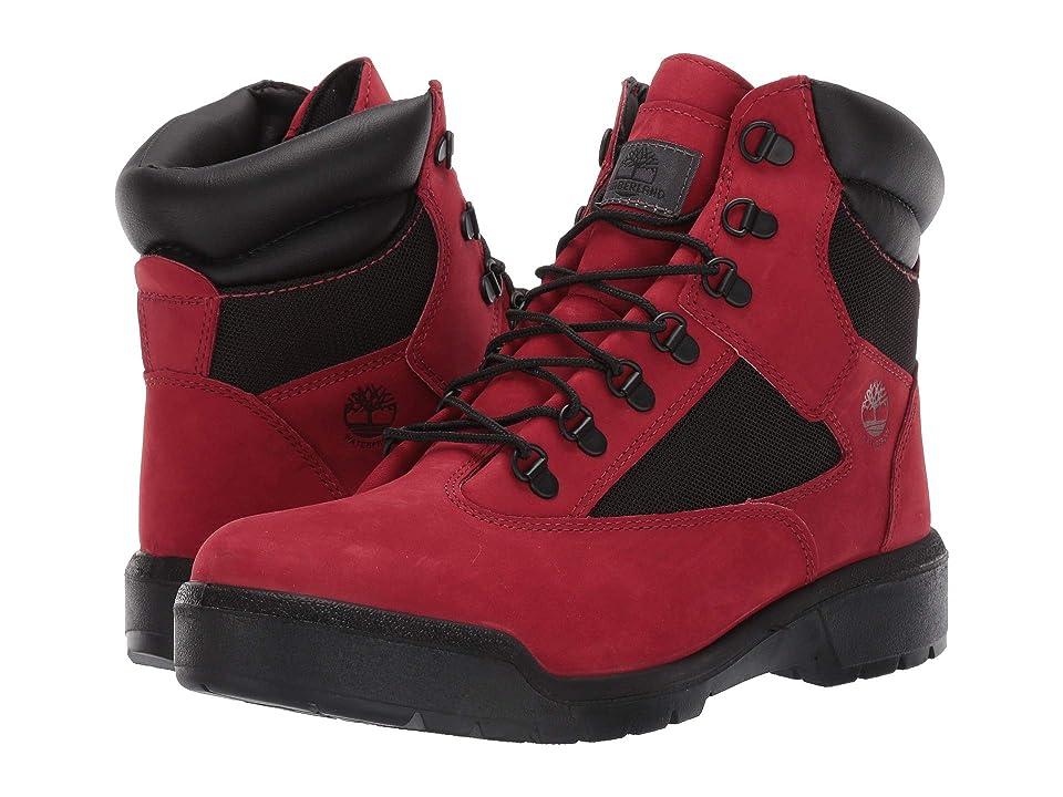 Timberland Field Boot 6 F/L Waterproof (Red Waterbuck) Men