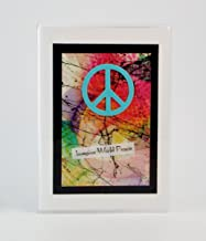 Peace Symbol Alphabetical Internet Password Book Made in the USA