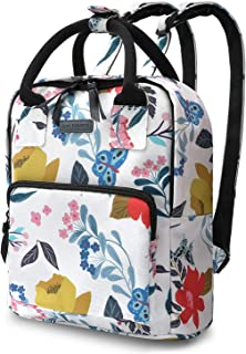 Glat Coberry Backpack for Girls, Floral Mini Backpack for Women, Small Backpack Purse